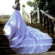 Свадебное платье с выставки (Польша) размер 42-44 цена 1500$