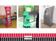 Рекламный холдер,  стойка под флаера и визитки (изготовление).